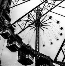 Street Photography Amsterdam funfair Damsquare