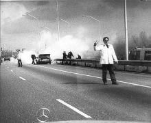 Street Photography Amsterdam Highway accident