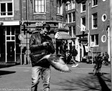 Street Photography Amsterdam time fly's