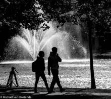Street Photography Amsterdam Fountain