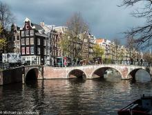Street Photography Amsterdam Canal