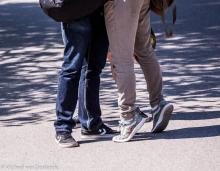 Street Photography Amsterdam feet