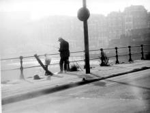Street Photography Amsterdam Fisherman Prins Hendrikkade