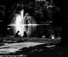 fontein-Vondelpark