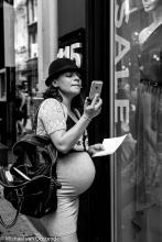 Street Photography Amsterdam pregnant
