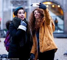 Street Photography Amsterdam another selfie