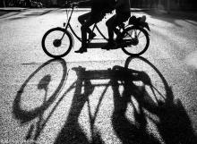 Street Photography Amsterdam shadow