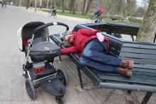 Street Photography Amsterdam Sleep baby sleep