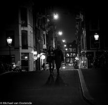 Street Photography Amsterdam night street walk