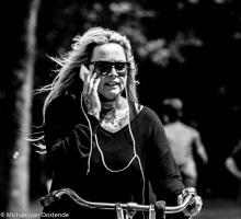 Street Photography Amsterdam tattoo mother