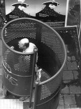 Street Photography Amsterdam urinal