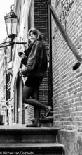 Street Photography Amsterdam  Virgins house girl