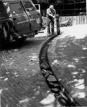 Street Photography Amsterdam Water pump